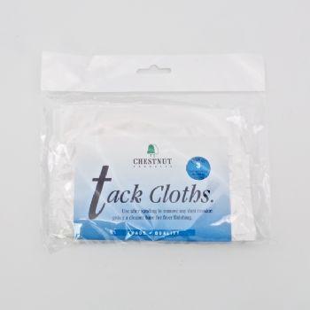 Chestnut tack cloths - pack of 3